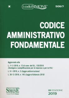 Capturtokyoedition.it Codice amministrativo fondamentale Image