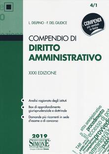 Premioquesti.it Compendio di diritto amministrativo Image