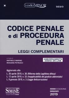Codice penale e di procedura penale. Leggi complementari. Con aggiornamento online.pdf