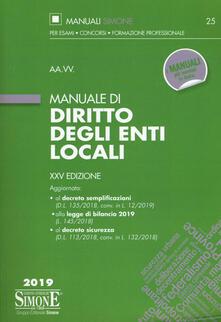Amatigota.it Manuale di diritto degli enti locali Image
