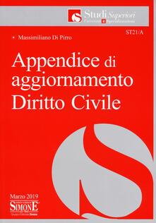 Camfeed.it Appendice di aggiornamento diritto civile Image