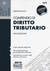 Compendio di diritto tributario - De Luca Gianni - wuz.it