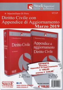 Daddyswing.es Diritto civile-Appendice di aggiornamento diritto civile 2019. Con Contenuto digitale per download Image