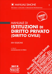 Fondazionesergioperlamusica.it Manuale di istituzioni di diritto privato (diritto civile) Image