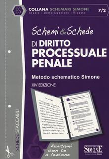 Camfeed.it Schemi & schede di diritto processuale penale Image