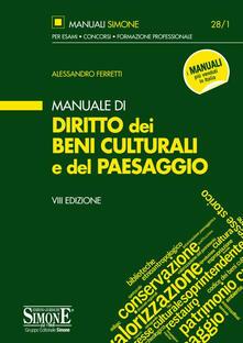 Manuale di diritto dei beni culturali del paesaggio.pdf