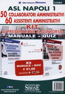 Antondemarirreguera.es ASL Napoli 1. 50 collaboratori amministrativi. 60 assistenti amministrativi. Kit di preparazione al concorso Image