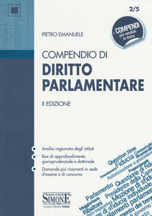 Antondemarirreguera.es Compendio di diritto parlamentare Image