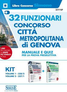 Radiospeed.it Concorso Città metropolitana di Genova. 32 Funzionari. Manuale e quiz per la prova preselettiva Image