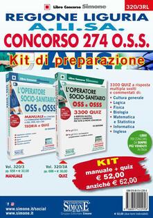 Winniearcher.com Concorso 274 O.S.S. Regione Liguria A.LI.SA. Kit di preparazione. Manuale+Quiz Image