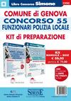 Comune di Genova. Concorso 55 funzionari polizia locale. Kit di preparazione. Manuale + Quiz. Con software di simulazione