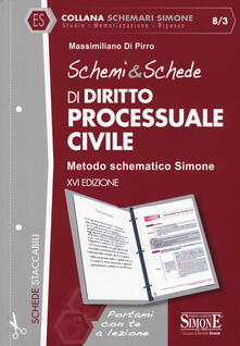 Schemi & schede di diritto processuale civile.pdf