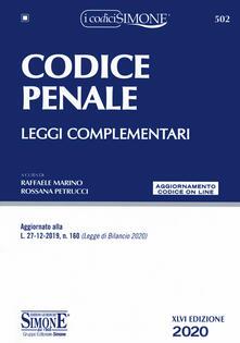 Warholgenova.it Codice penale. Leggi complementari. Con aggiornamento online Image