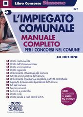 Copertina  L'impiegato comunale : manuale completo per i concorsi nel Comune