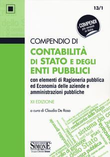Compendio di contabilità di Stato e degli enti pubblici con elementi di ragioneria pubblica ed economia delle aziende e amministrazioni pubbliche.pdf