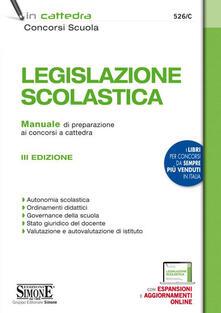 Legislazione scolastica. Manuale di preparazione alle prove dei concorsi a cattedra.pdf