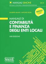 Manuale di contabilità e finanza degli enti locali