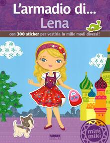 Birrafraitrulli.it L' armadio di... Lena. Con 300 sticker per vestirla in mille modi diversi! Image