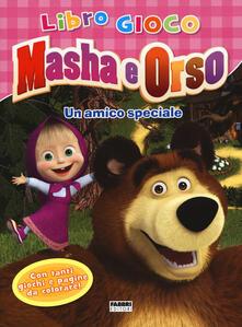 Promoartpalermo.it Un amico speciale. Masha e Orso. Libro gioco Image