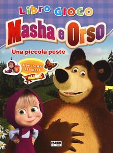Ilmeglio-delweb.it Una piccola peste. Masha e Orso. Libro gioco. Con adesivi Image