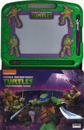 Impara a disegnare con la lavagna magica! Teenage mutant ninja turtles. Con gadget