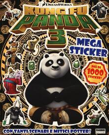 Festivalpatudocanario.es Kung Fu Panda 3. Megasticker. Con adesivi. Con poster Image