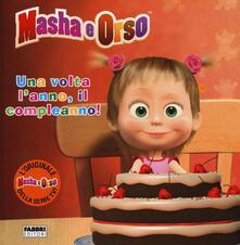Ipabsantonioabatetrino.it Una volta l'anno, il compleanno! Masha e Orso Image