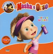 Festivalshakespeare.it Viva lo sport! Masha e Orso. Impara con Masha Image