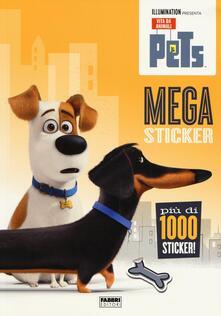 Grandtoureventi.it Mega sticker. Pets. Vita da animali. Con adesivi Image