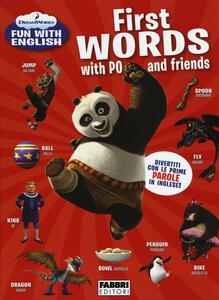First words with PO and friends. Dreamworks fun with English