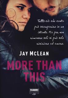 More than this - Jay McLean - copertina