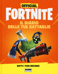 Letterarioprimopiano.it Official Fortnite. Il diario delle tue battaglie Image