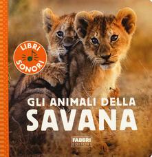 Gli animali della savana. Ediz. a colori.pdf