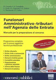 Mercatinidinataletorino.it Funzionari amministrativo-tributari nell'agenzia delle entrate Image
