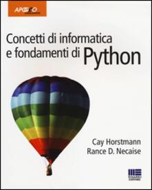 Winniearcher.com Concetti di informatica e fondamenti di Python Image