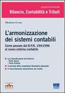 L' armonizzazione dei sistemi contabili