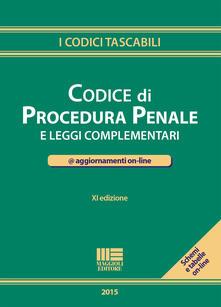 Camfeed.it Codice di procedura penale e leggi complementari Image