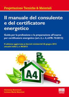 Equilibrifestival.it Il manuale del consulente e del certificatore energetico Image