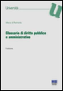 Secchiarapita.it Glossario di diritto pubblico e amministrativo Image