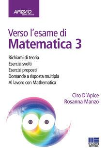 Filippodegasperi.it Verso l'esame di matematica 3. Con espansione online Image