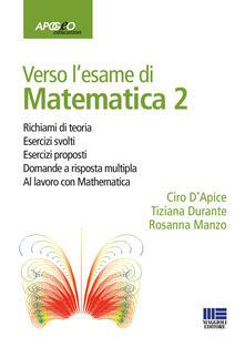 Mercatinidinataletorino.it Verso l'esame di matematica 2. Con espansione online Image