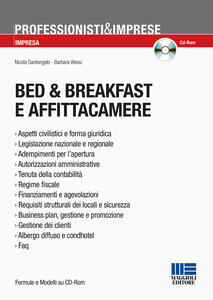 Bed & breakfast e affittacamere. Con CD-ROM