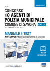 Concorso 10 agenti di polizia municipale. Comune di Savona (Cat. C1) (G.U. 5 novembre 2019, n. 87). Manuale e test. Kit completo per la preparazione al concorso