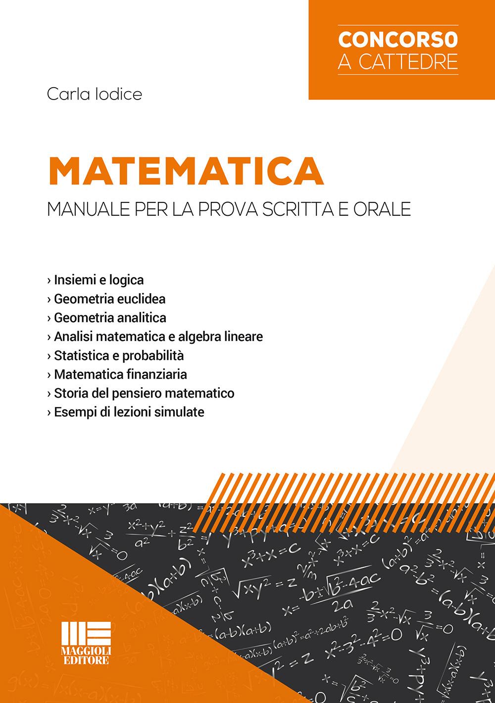 Matematica. Manuale per la ...