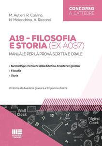 A19 filosofia e storia (ex A037)
