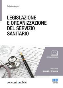 Adiaphora.it Legislazione e organizzazione del servizio sanitario Image