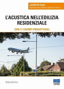 L' acustica nell'edilizia residenziale