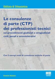 Radiospeed.it Le consulenze di parte (CTP) dei professionisti tecnici Image
