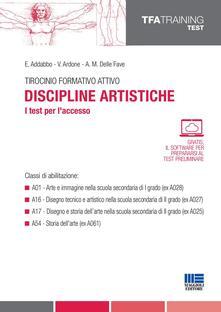 Ipabsantonioabatetrino.it Tirocinio formativo attivo. Discipline artistiche. I test per l'accesso Image