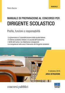 Radiospeed.it Manuale di preparazione al concorso per dirigente scolastico Image